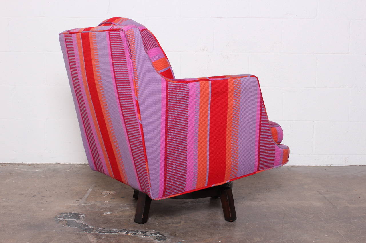 Swivel Lounge Chair by Edward Wormley for Dunbar For Sale 5