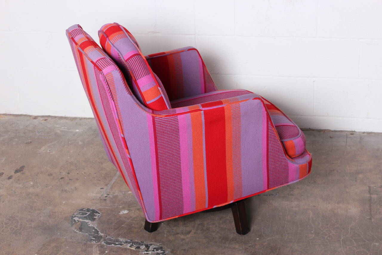 Swivel Lounge Chair by Edward Wormley for Dunbar For Sale 4