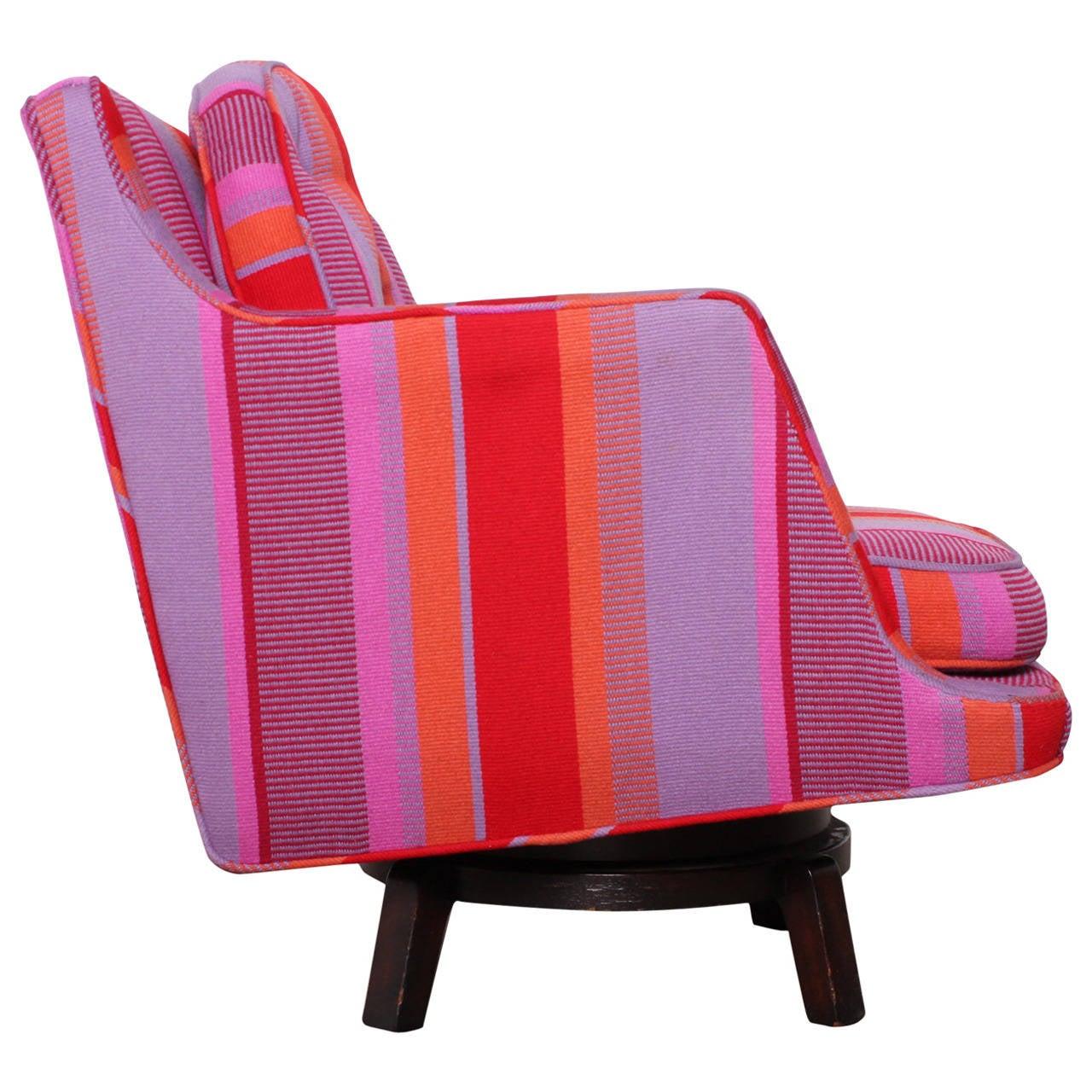 Swivel Lounge Chair by Edward Wormley for Dunbar