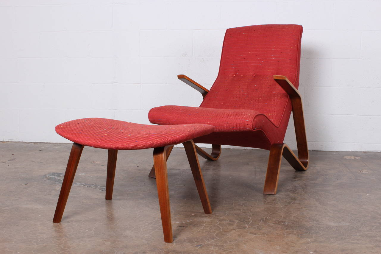 Grasshopper Chair and Ottoman by Eero Saarinen for Knoll 5