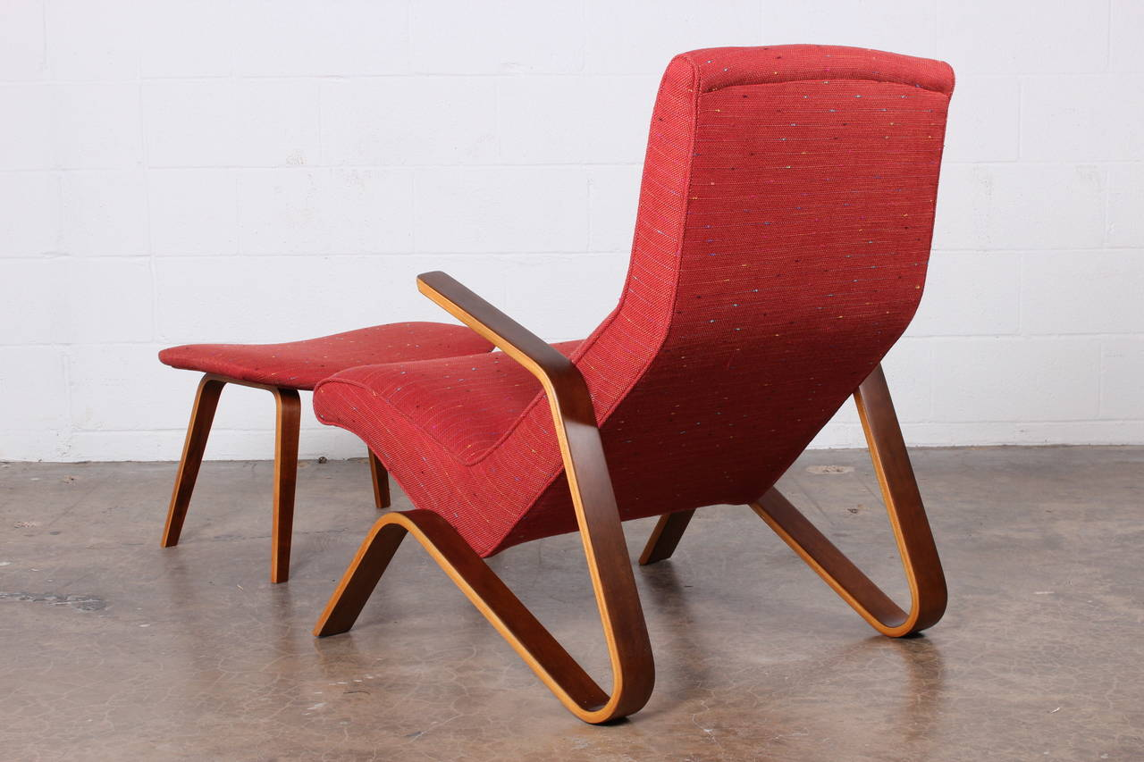 Grasshopper Chair and Ottoman by Eero Saarinen for Knoll 6