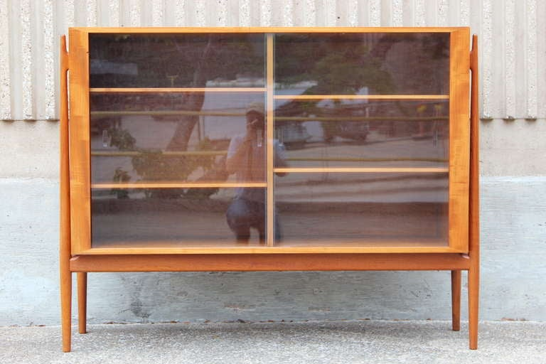 Large Display Cabinet By Niels Vodder At 1stdibs