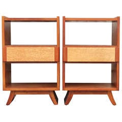 Pair of Nightstands by Eliel Saarinen for RWay