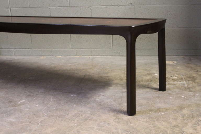 Mid-20th Century Rosewood Coffee Table by Edward Wormley for Dunbar For Sale