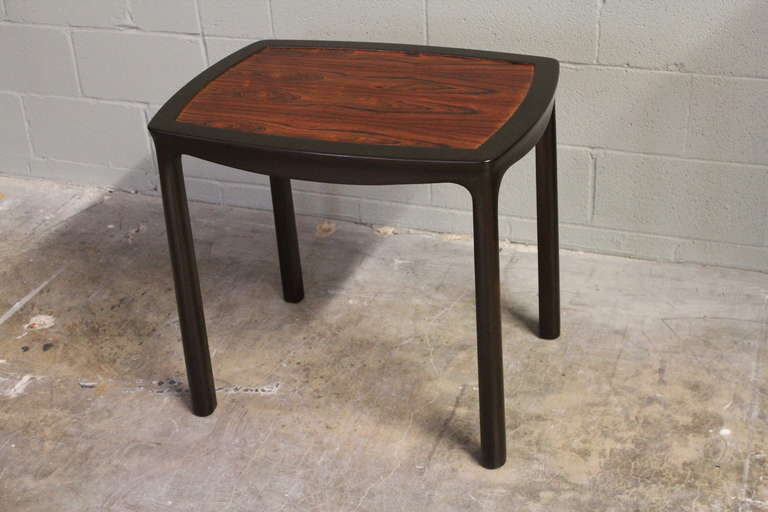 Rosewood Table by Edward Wormley for Dunbar In Good Condition For Sale In Dallas, TX