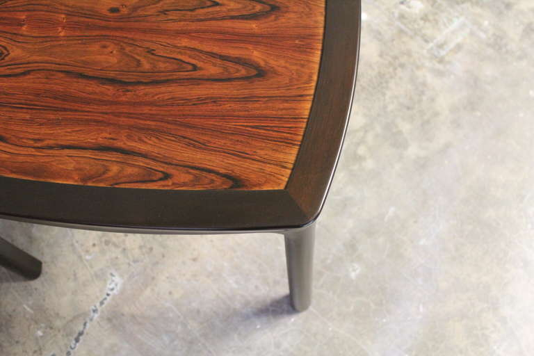 Mid-20th Century Rosewood Table by Edward Wormley for Dunbar For Sale