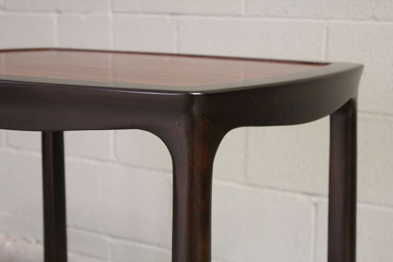 Rosewood Table by Edward Wormley for Dunbar For Sale 2