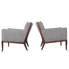 Pair of Lounge Chairs by T.H. Robsjohn-Gibbings