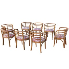 Set of Eight Dining Chairs by Thonet