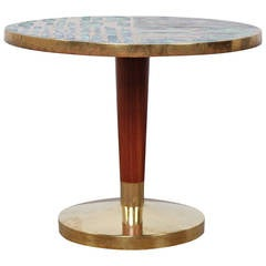 Iron Table Base In Bowed Form At 1stdibs