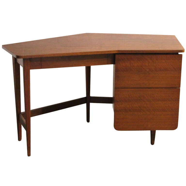 Rare Desk by Bertha Schaefer for Singer and Sons