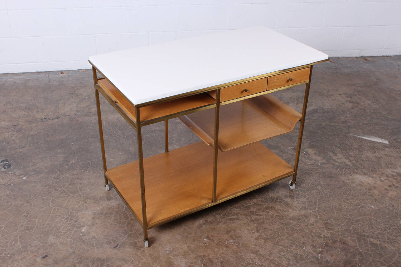 Bar Cart Designed by Paul McCobb In Good Condition In Dallas, TX