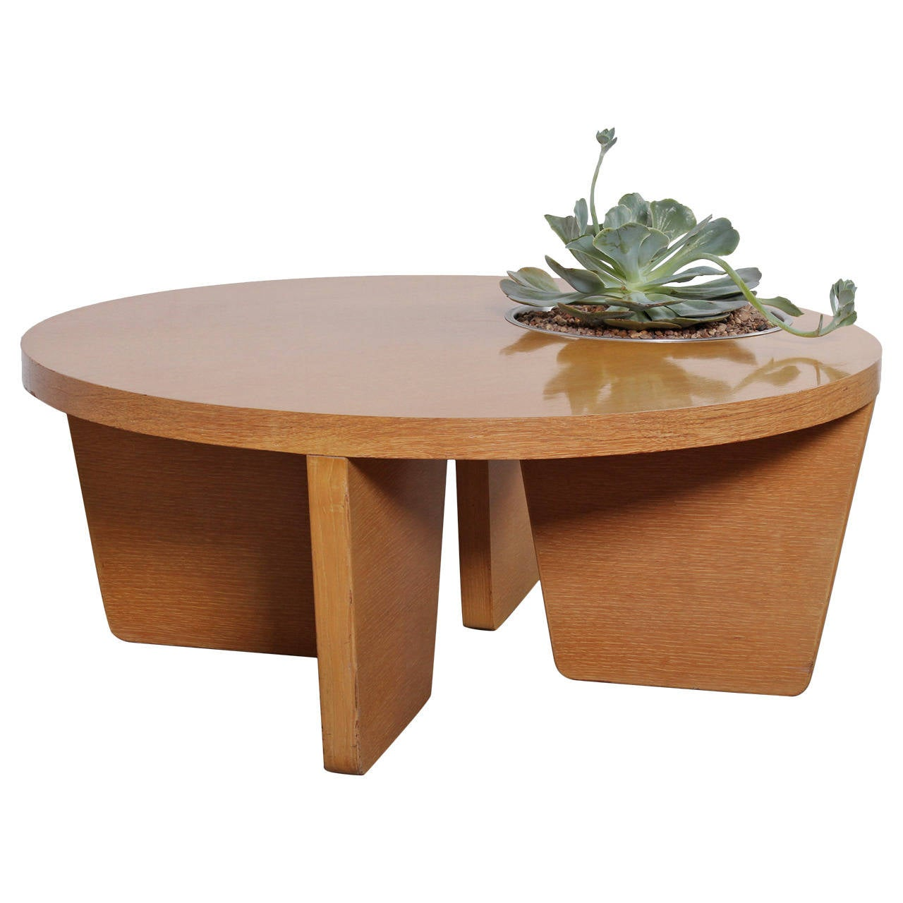 Coffee Table With Planter Attributed To Harvey Probber For