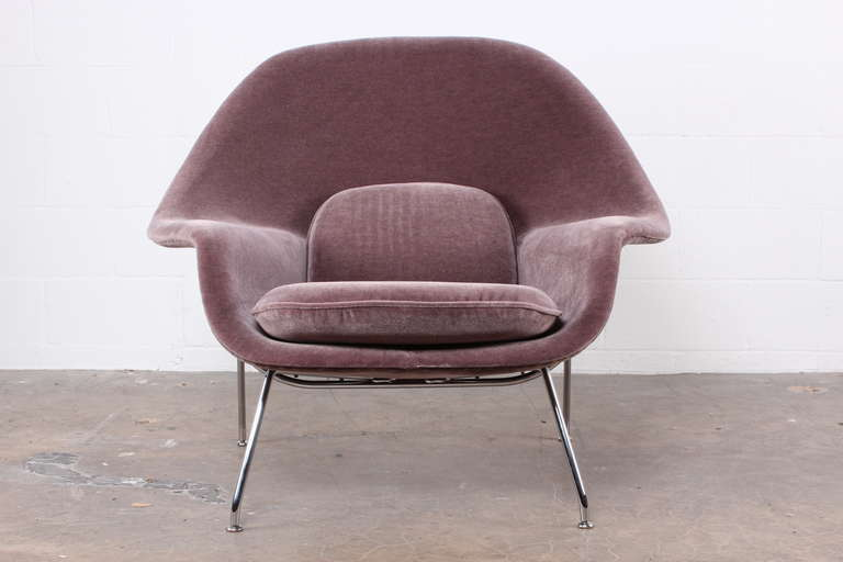 Superbe An Iconic Womb Chair Designed By Eero Saarinen For Knoll. Reupholstered In  Purple/grey