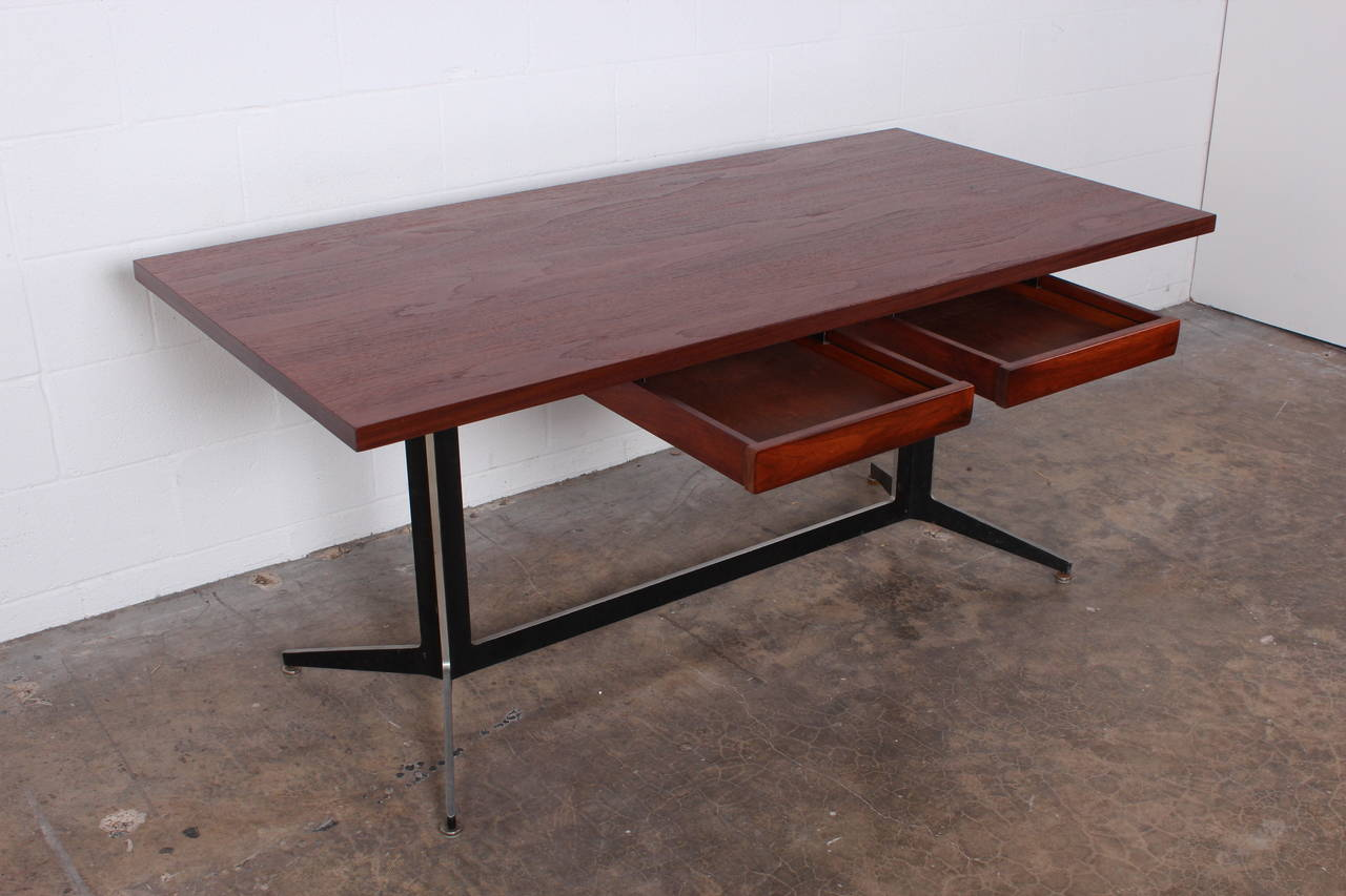 Architectural Desk by Ward Bennett for Lehigh Furniture