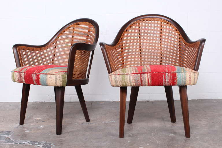 Set of Four Armchairs Designed by Harvey Probber In Excellent Condition For Sale In Dallas, TX