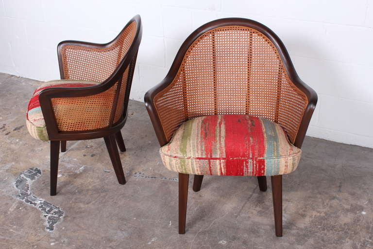 Mid-20th Century Set of Four Armchairs Designed by Harvey Probber For Sale