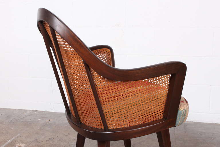 Set of Four Armchairs Designed by Harvey Probber For Sale 5
