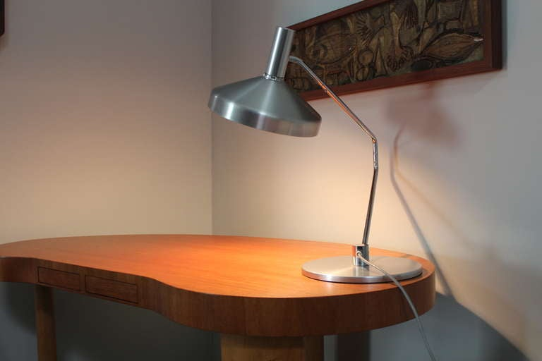 Articulating desk lamp by rico baltensweiler at 1stdibs articulating desk lamp by rico baltensweiler in excellent condition for sale in dallas tx aloadofball Gallery