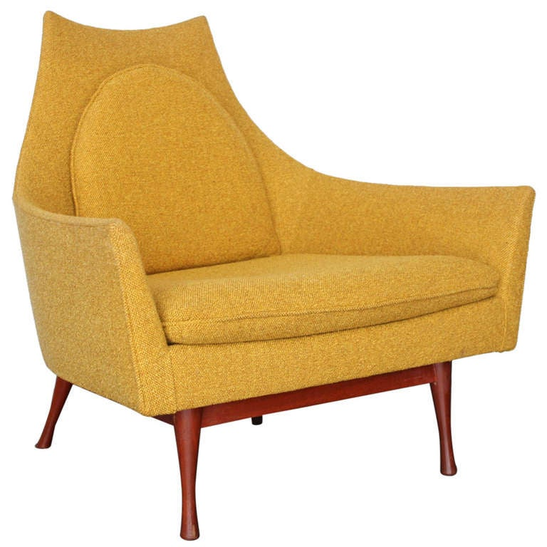 Low Back Lounge Chair by Paul McCobb at 1stdibs