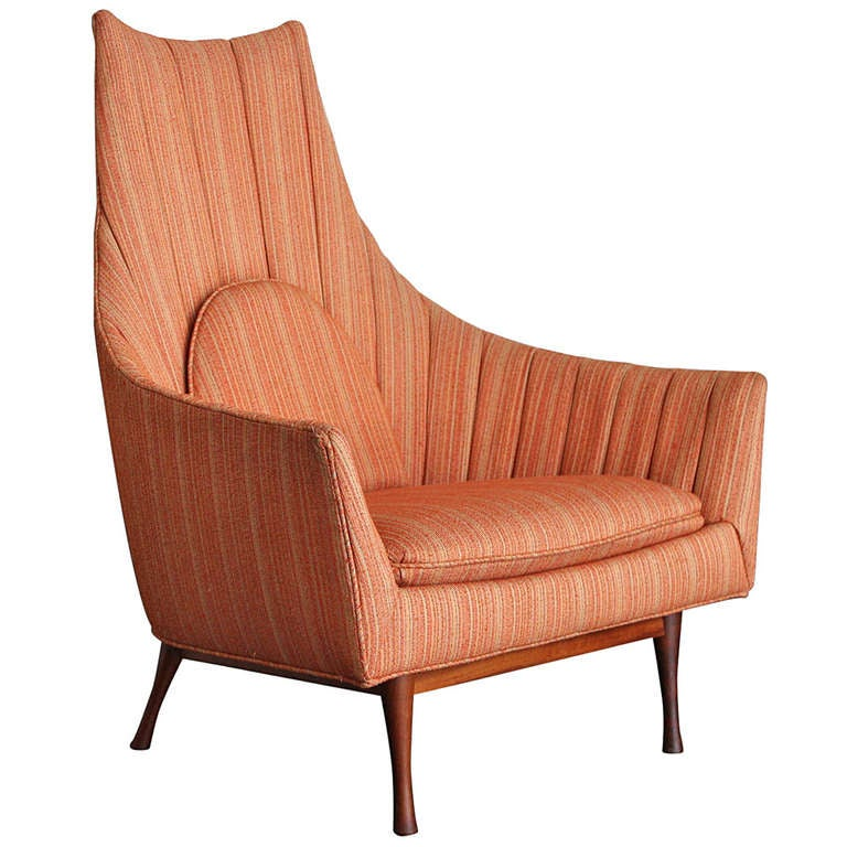 High Back Lounge Chair By Paul McCobb At 1stdibs