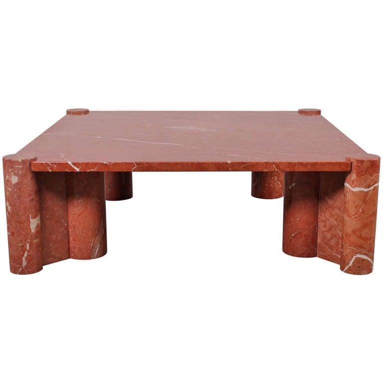 Gae Aulenti Marble Jumbo Coffee Table