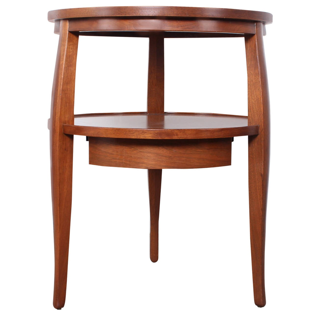 Two tier side table by edward wormley for dunbar for sale at 1stdibs - Archives departementales 33 tables decennales ...