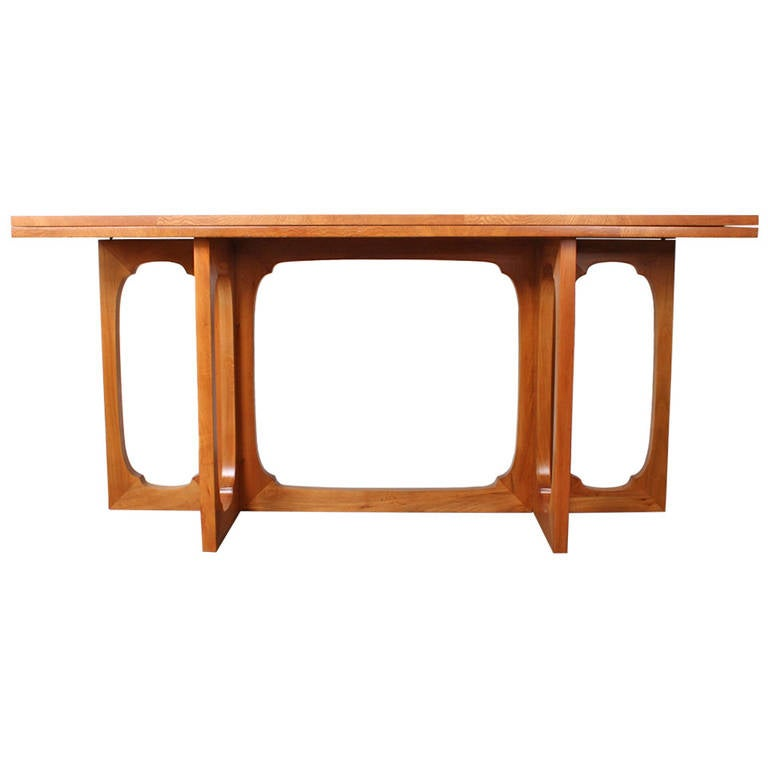 Flip Top Console Table By Johan Tapp For Sale