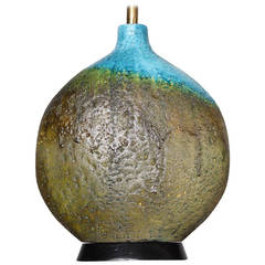 Large Ceramic Lamp by Raymor
