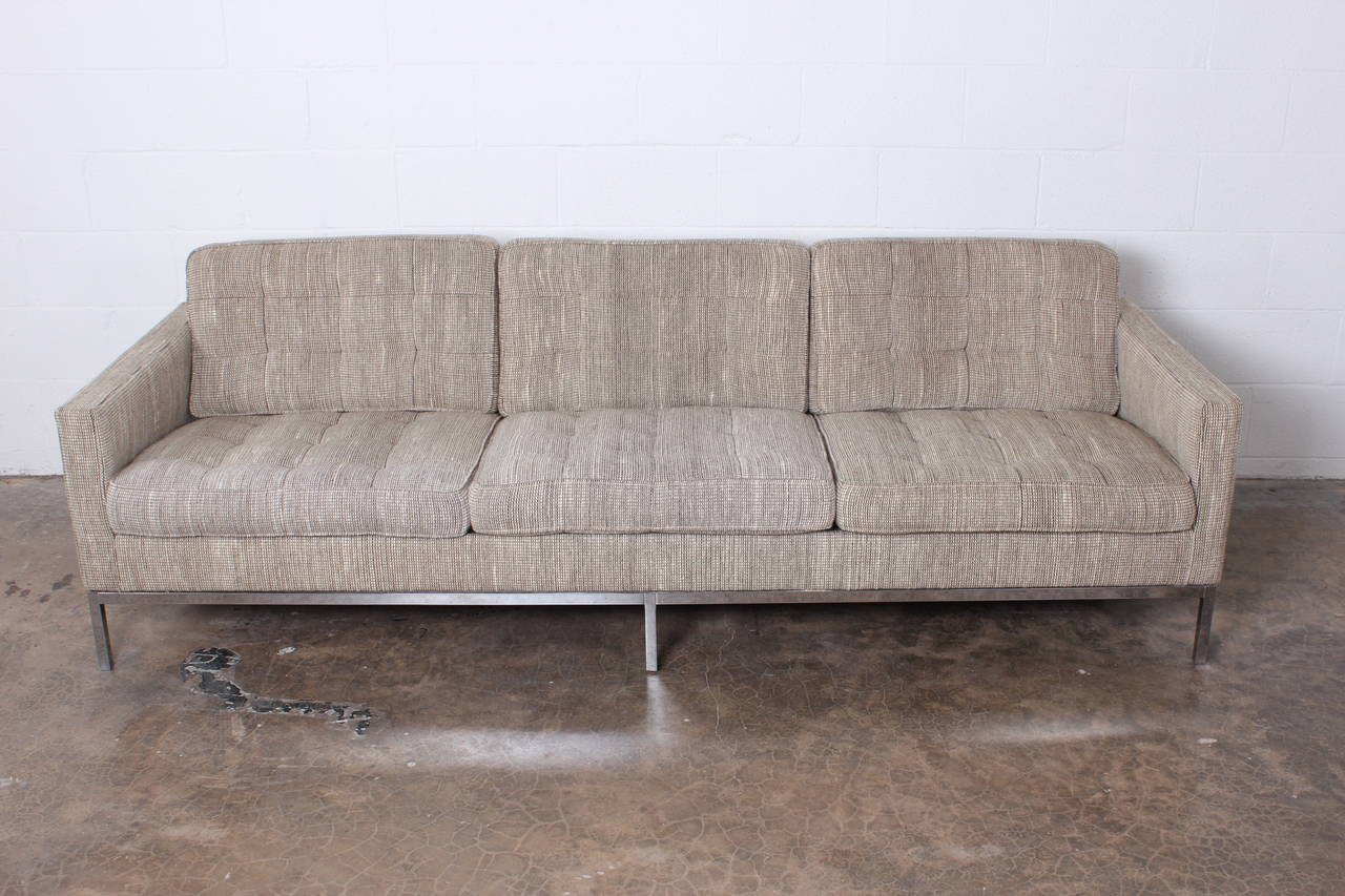 A Florence Knoll Sofa Designed For In It S Original