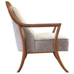 Saber Leg Lounge Chair by T.H. Robsjohn-Gibbings