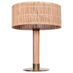 Rare Table Lamp by Paavo Tynell for Taito