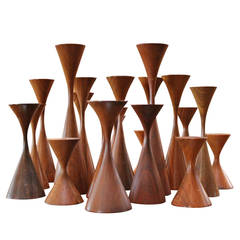 Collection of Candlesticks by Rude Osolnik