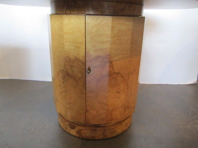 Olive-wood burl table by Edward Wormley for Dunbar For Sale 1
