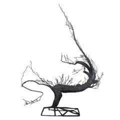 Tree sculpture by unknown artist