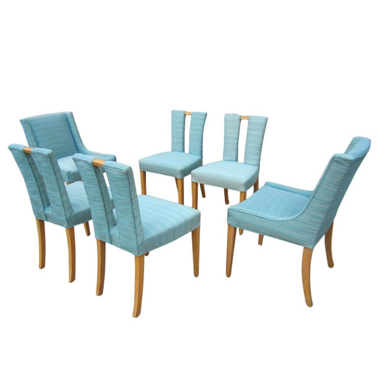 Set Of Six Dining Chairs By Eliel Saarinen At 1stdibs