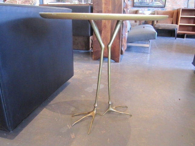 Vintage Traccia table by Meret Oppenheim 10