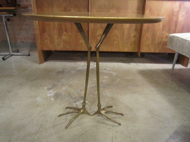 Vintage Traccia table by Meret Oppenheim 6