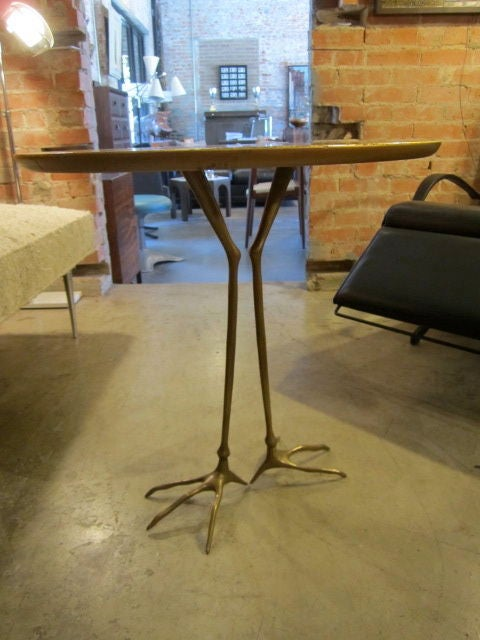 Vintage Traccia table by Meret Oppenheim 7