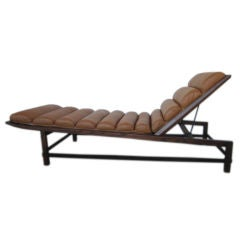 Rare chaise lounge by Edward Wormley for Dunbar