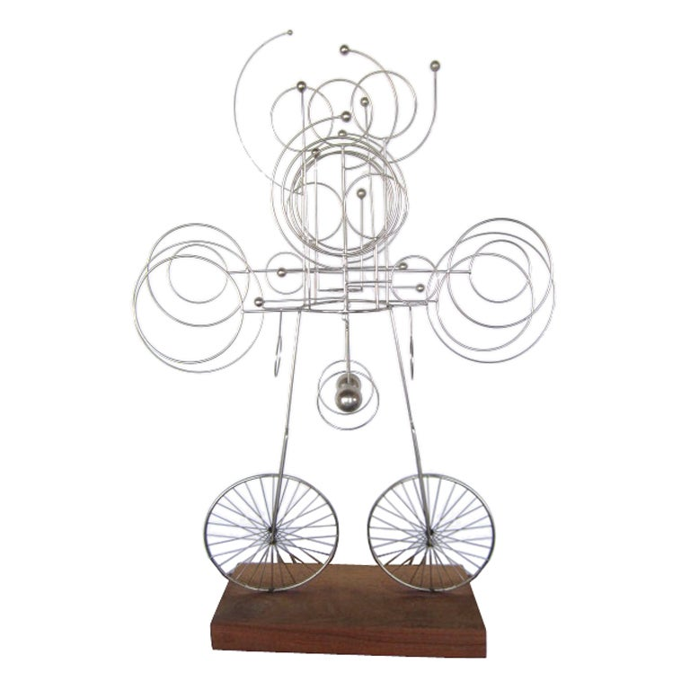 Large kinetic sculpture by James Burlini at 1stdibs