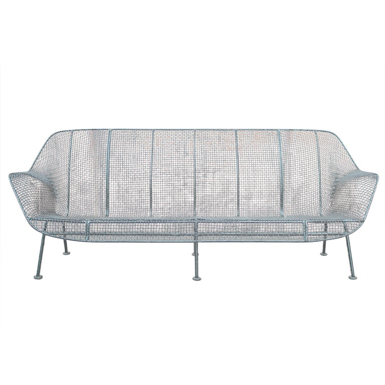 Sculptura outdoor sofa by Russell Woodard