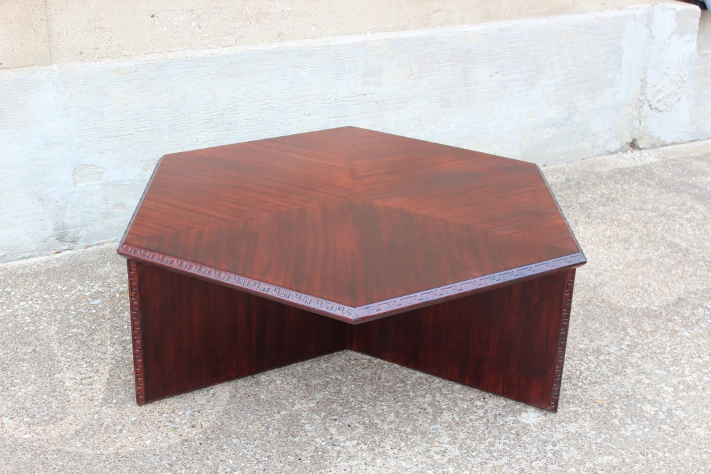 Coffee Table By Frank Lloyd Wright For Henredon Image 10