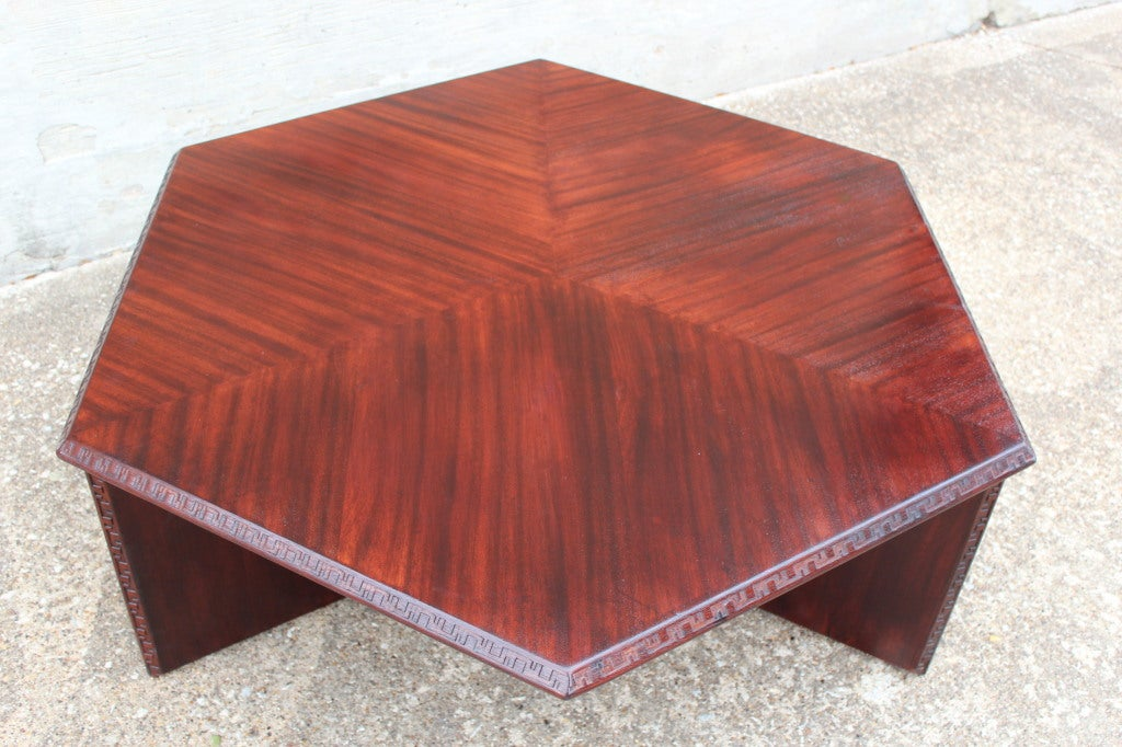 Coffee Table By Frank Lloyd Wright For Henredon Image 2