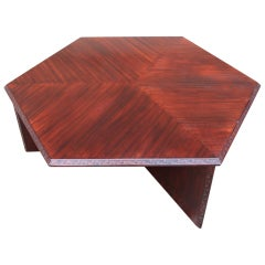 Coffee table by Frank Lloyd Wright for Henredon
