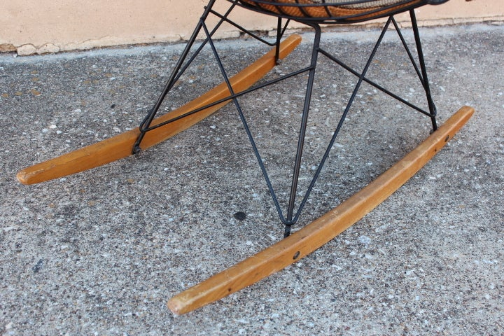 An Early All Original Rocking Chair by Charles Eames 6