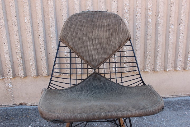An Early All Original Rocking Chair by Charles Eames 7