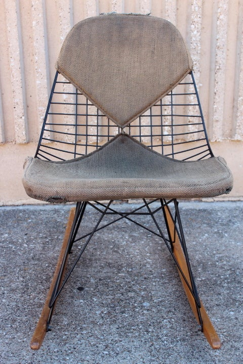 An Early All Original Rocking Chair by Charles Eames 8