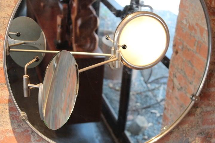 Satellite Mirror By Eileen Gray At 1stdibs