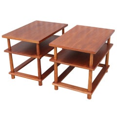 Pair of Side Tables by T.H. Robsjohn-Gibbings